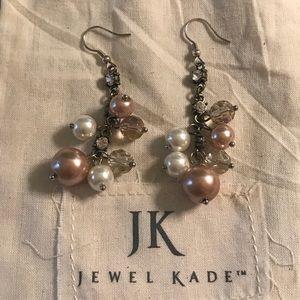 New Jewel Kade Multi Bead Pearl Drop Earrings